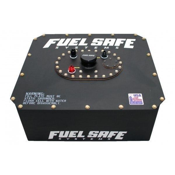 FuelSafe Zbiornik Paliwa 55L z obudową stalową - GRUBYGARAGE - Sklep Tuningowy